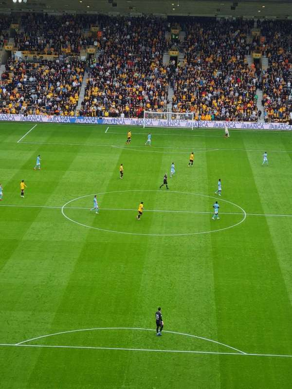 Molineux Stadium, section: NU3, row: L, seat: 62