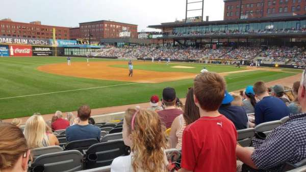 CHS Field, section: 116, row: 10, seat: 10