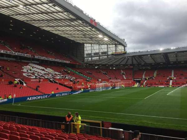Old Trafford, section: N1404, row: PP, seat: 219