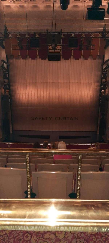 Savoy Theatre, section: Dress Circle, row: G, seat: 12