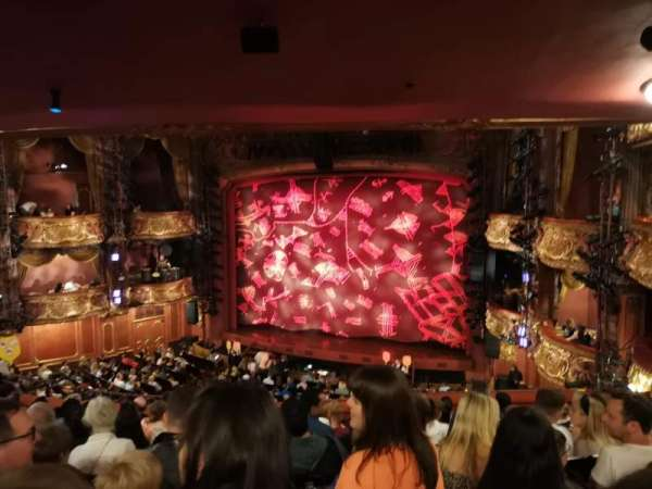 Lyceum Theatre (West End), section: Royal Circle, row: J, seat: 9