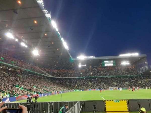celtic park, section: 141, row: B, seat: 19