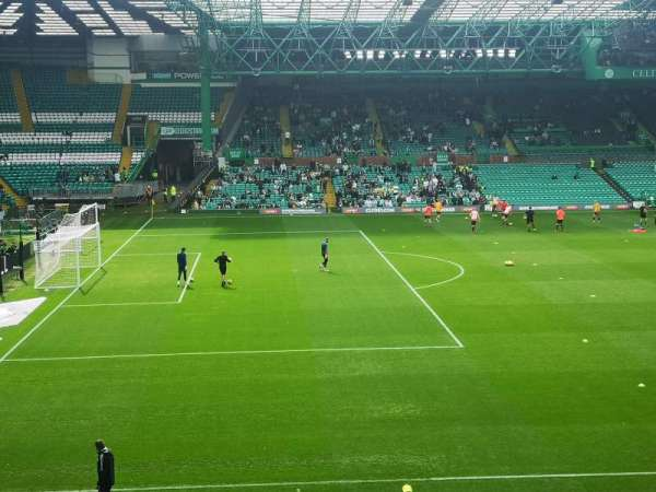 Celtic Park, section: 108, row: Aa, seat: 21