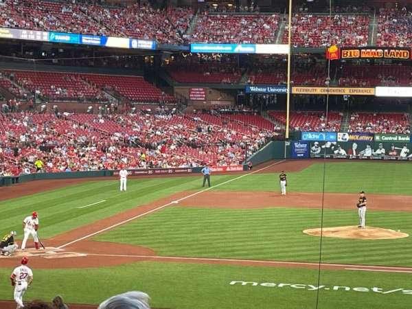 Busch Stadium, section: 145, row: 22, seat: 11