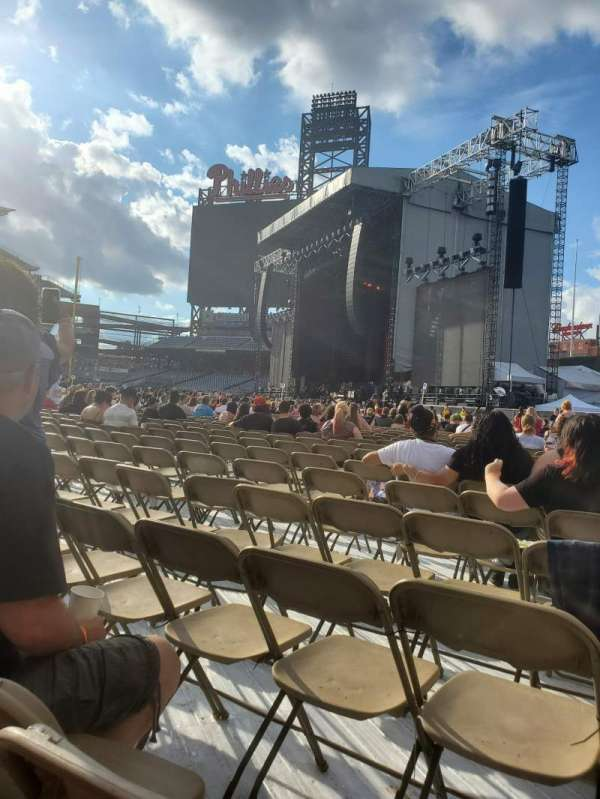 Citizens Bank Park, section: Floor GG, row: 24, seat: 1