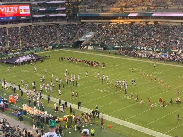 Lincoln Financial Field, section: C5, row: 15, seat: 2