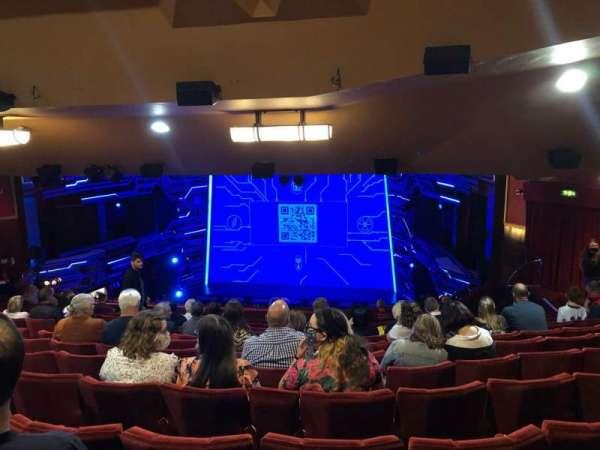 Adelphi Theatre, section: Dress Circle, row: O, seat: 10