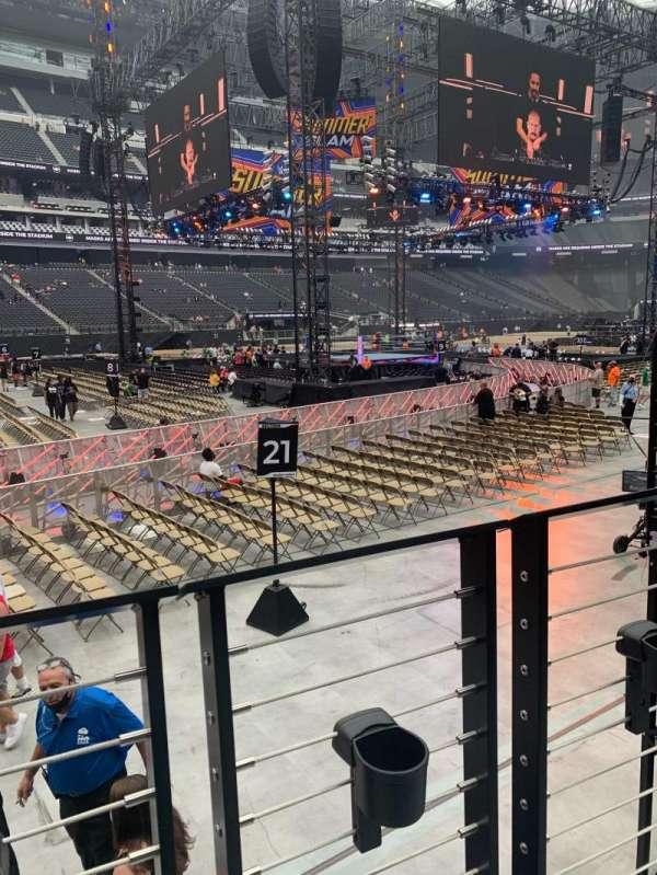 Allegiant Stadium, section: 117, row: 1, seat: 6