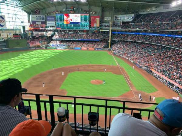 Minute Maid Park, section: 314, row: 2, seat: 12