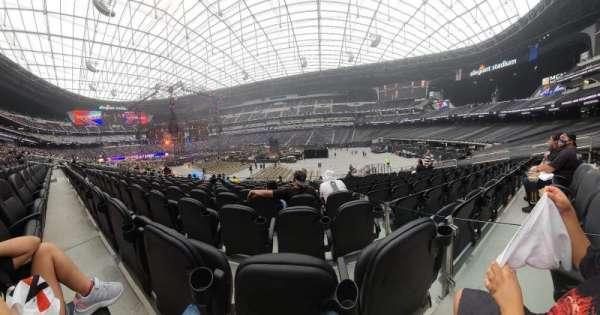 Allegiant Stadium, section: C109, row: 13, seat: 3