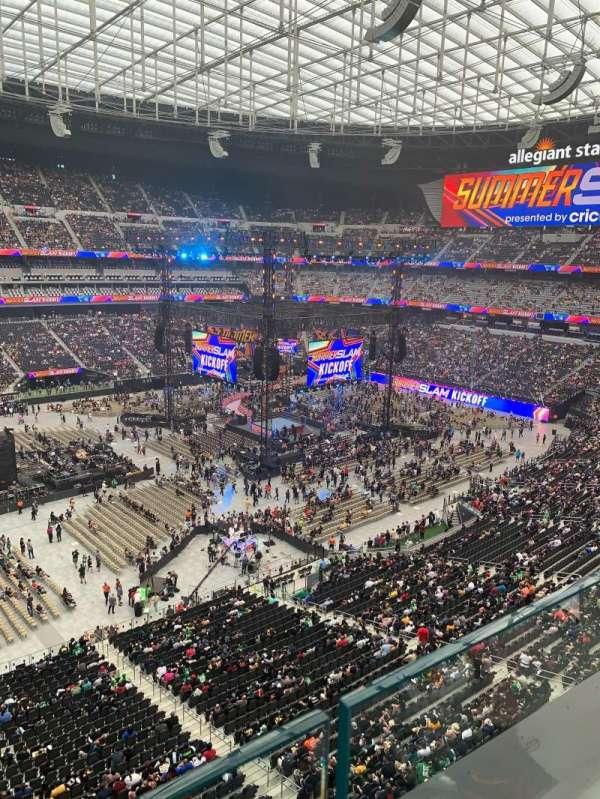 Allegiant Stadium, section: 341, row: 1, seat: 21