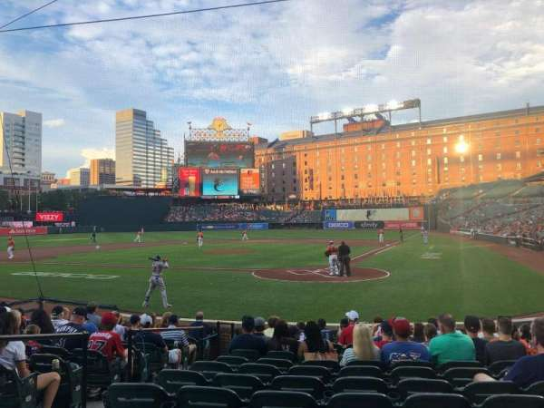 Oriole Park at Camden Yards, section: 42, row: 12, seat: 4