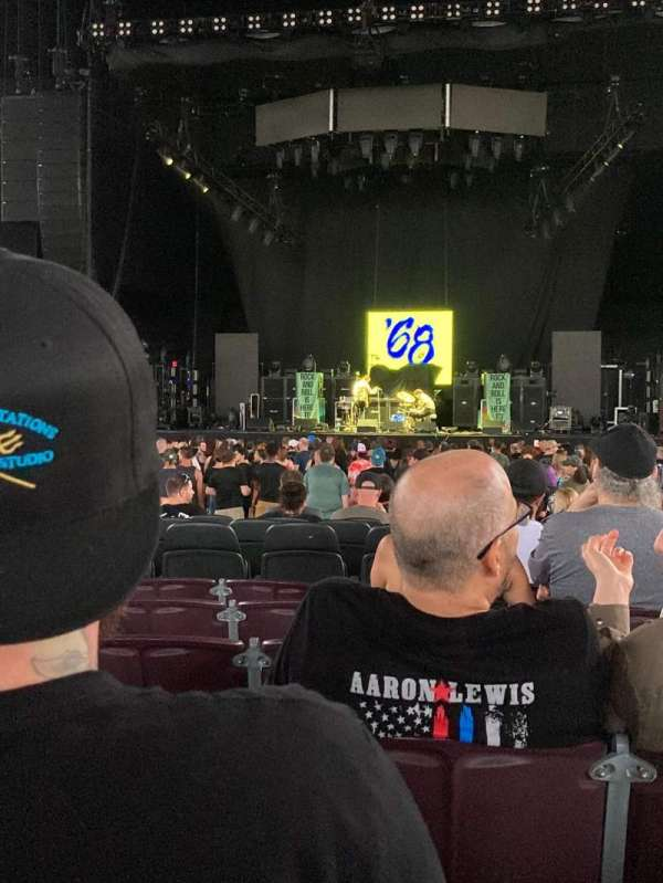 Jiffy Lube Live, section: 102, row: J, seat: 15