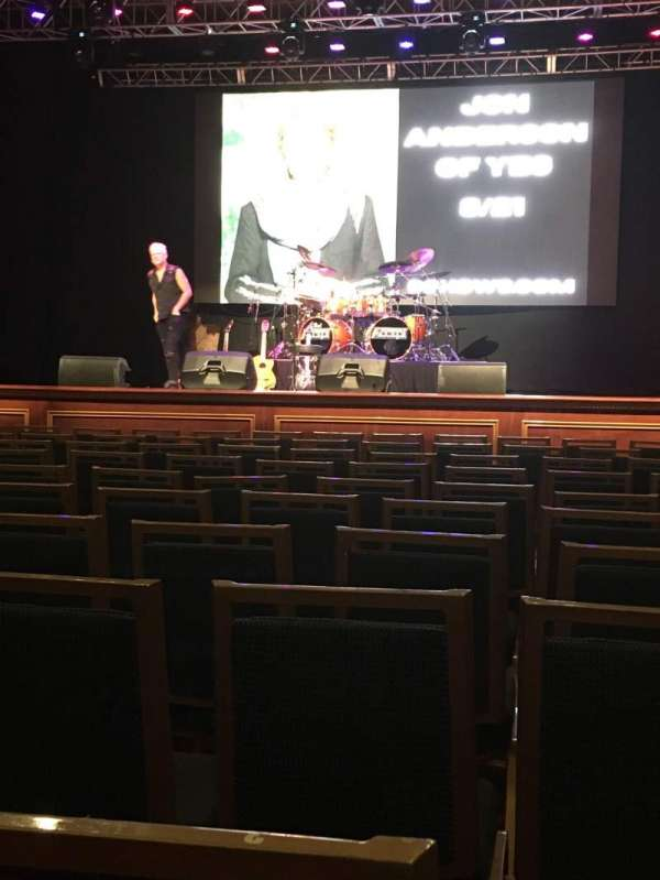 Arcada Theatre, section: 102, row: K, seat: 2