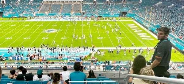 Hard Rock Stadium, section: 316, row: 8, seat: 4
