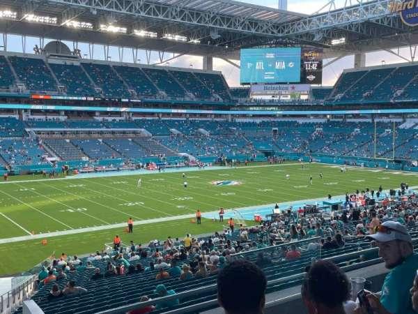 Hard Rock Stadium, section: 223, row: 5, seat: 5