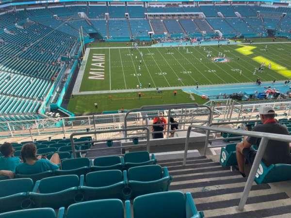 Hard Rock Stadium, section: 322, row: 13, seat: 1