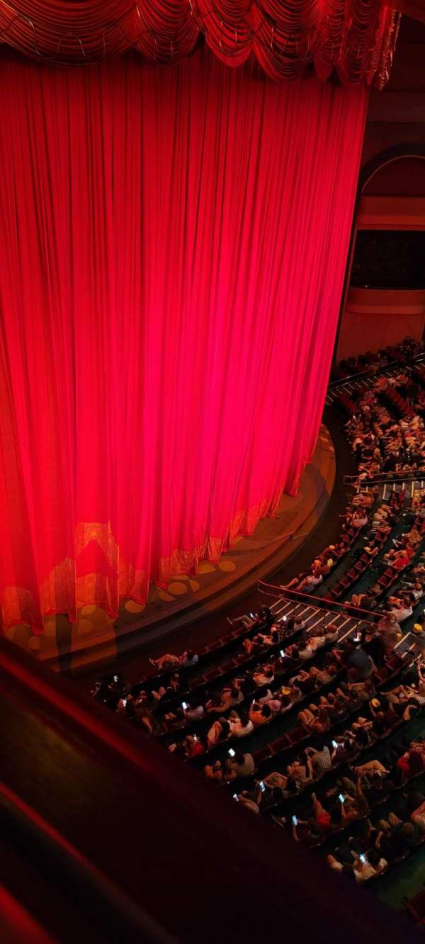 O Theatre, section: 300, row: L, seat: 304