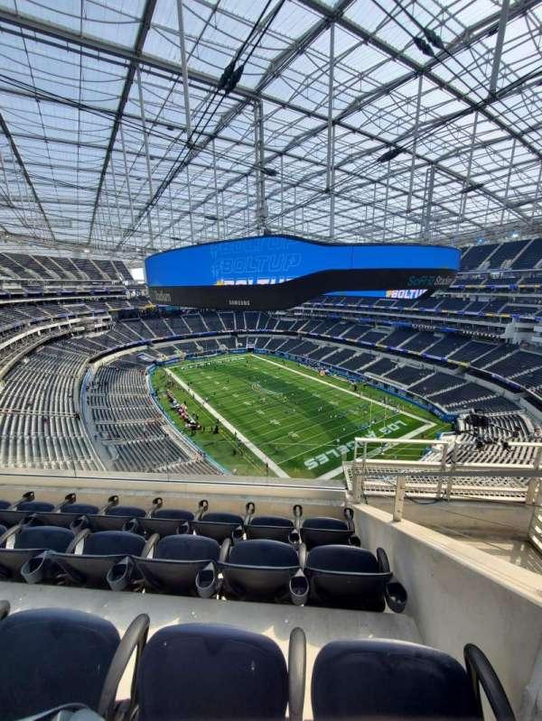 SoFi Stadium, section: 453, row: 4, seat: 6