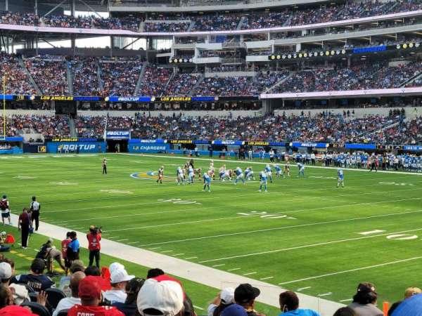 SoFi Stadium, section: C136, row: 10, seat: 1