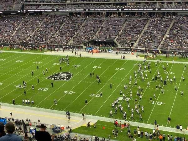 Allegiant Stadium, section: 308, row: 16, seat: 19