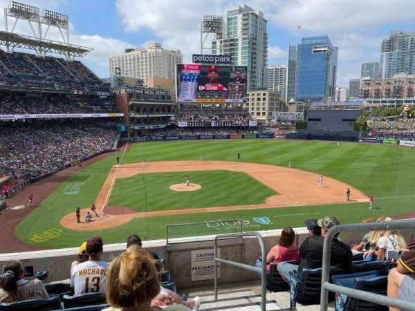 PETCO Park, section: 203, row: 6, seat: 20