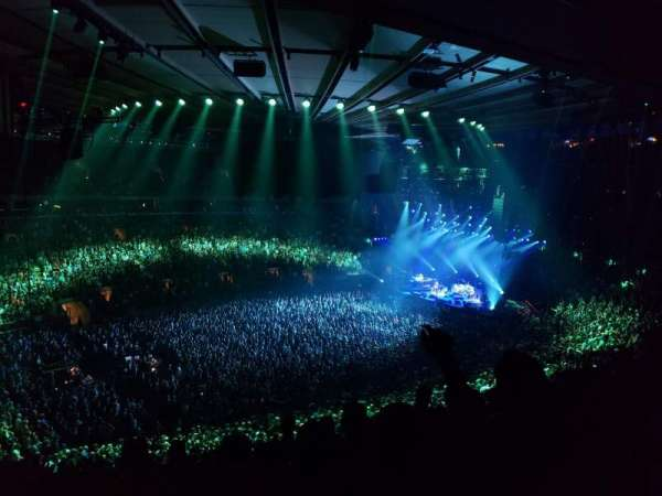 Madison Square Garden, section: 208, row: 8