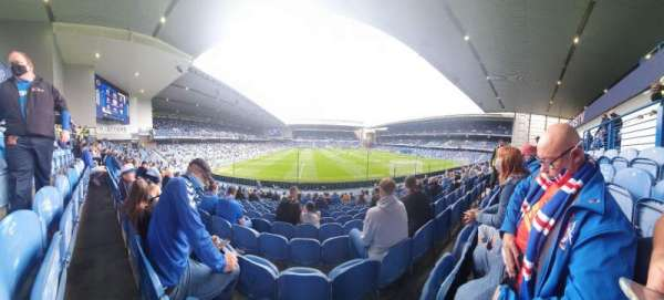 Ibrox Stadium, section: Bf4, row: R, seat: 125