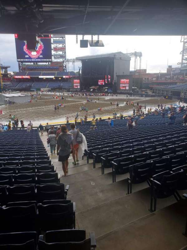 Citizens Bank Park, section: 114, row: 40, seat: 1