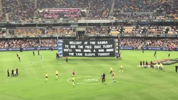 The Gabba, section: 42