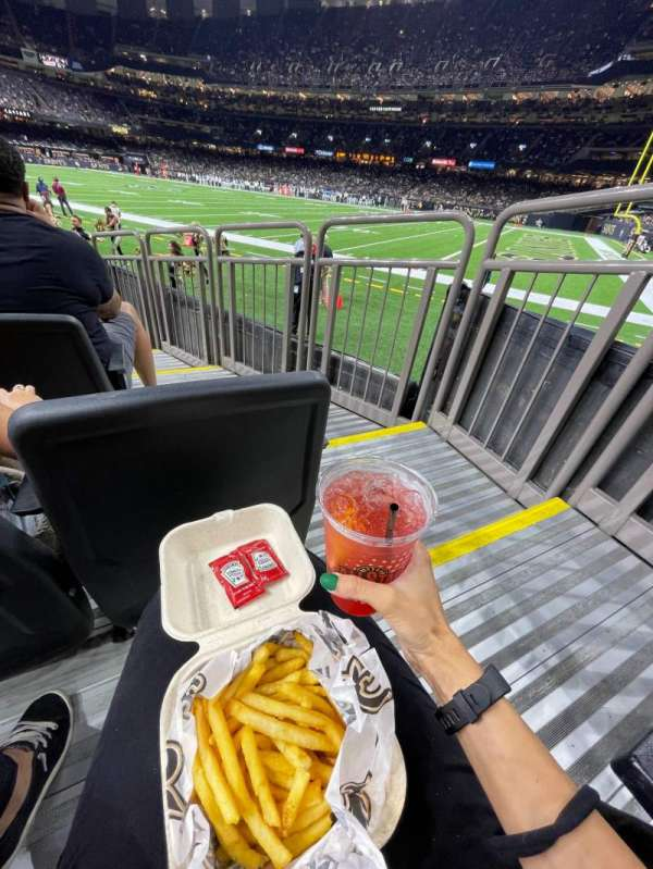 Caesars Superdome, section: 135, row: 6, seat: 1