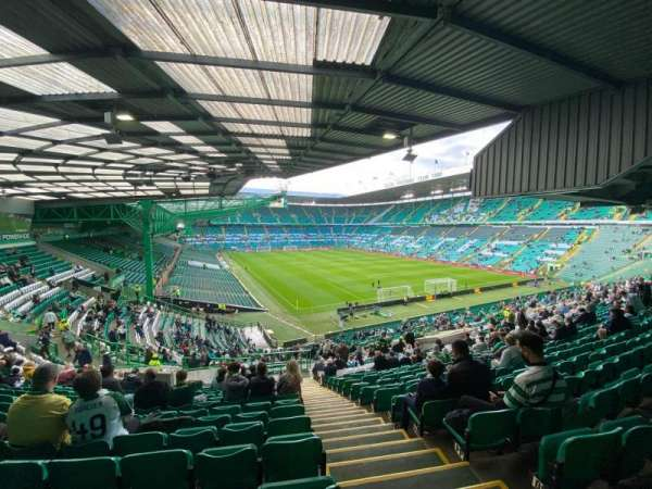 Celtic Park, section: 118, row: SS, seat: 21