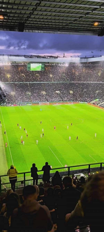 Celtic Park, section: 419, row: W, seat: 14
