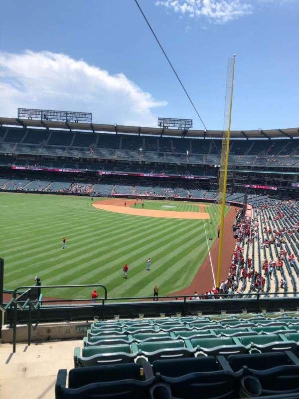 Angel Stadium, section: 301