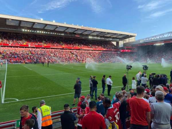 Anfield, section: L2, row: 9, seat: 41