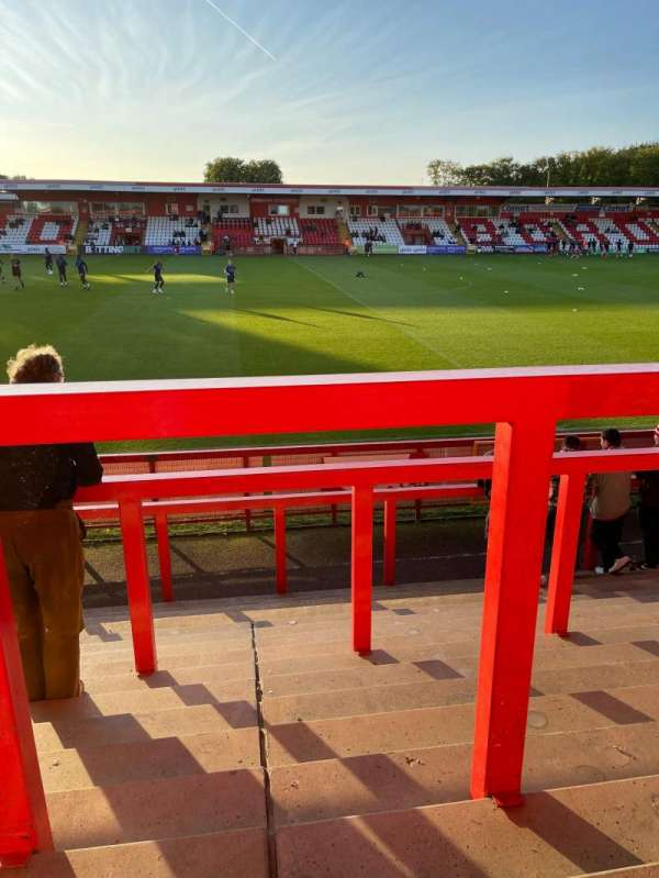 Broadhall Way, section: East Stand
