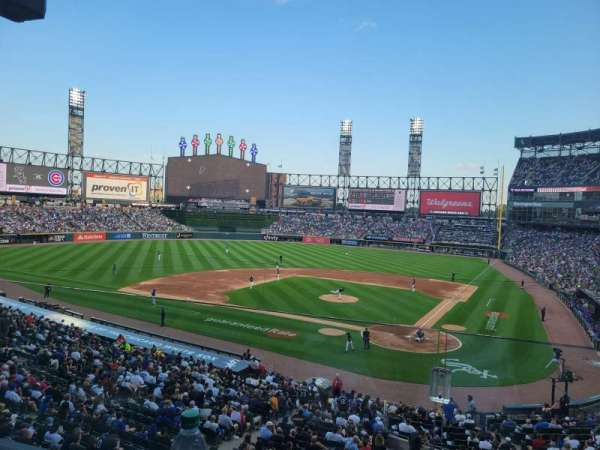 Guaranteed Rate Field, section: 230, row: A, seat: 9