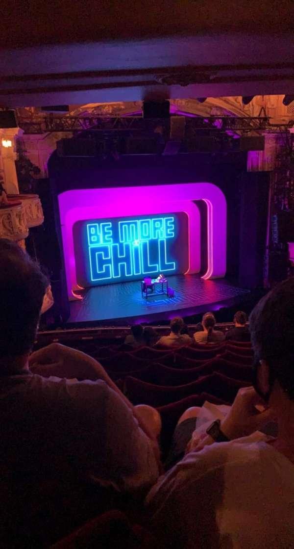 Shaftesbury Theatre, section: Royal Circle, row: J, seat: 32-33