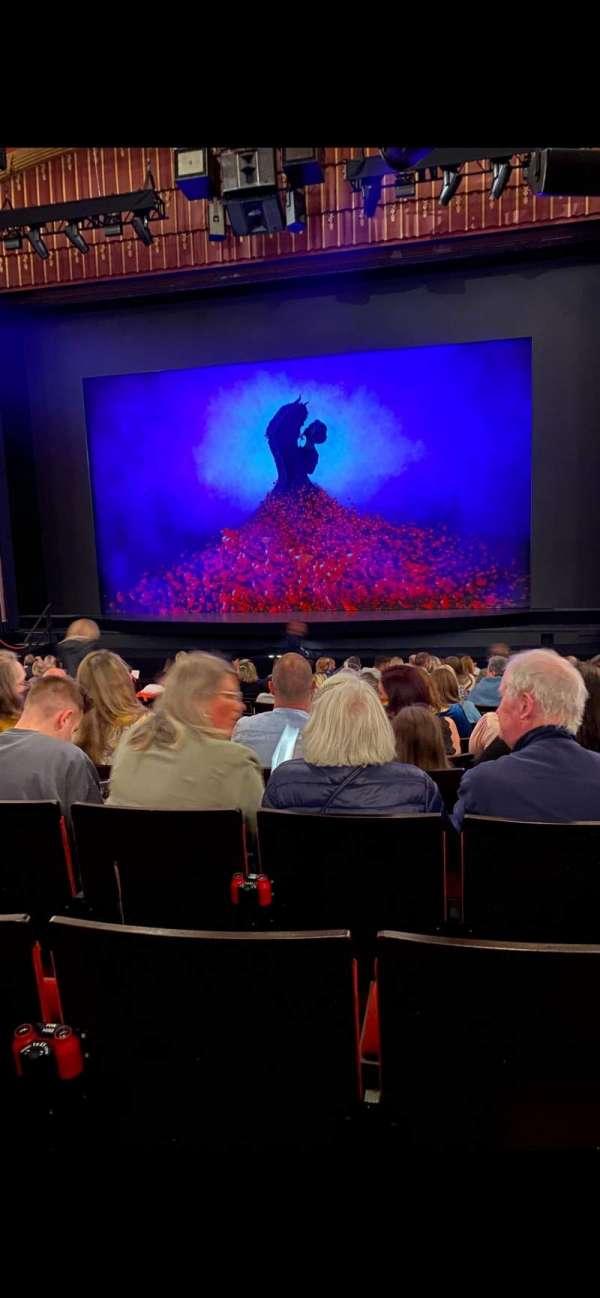 Bristol Hippodrome, section: Stalls, row: S, seat: 15