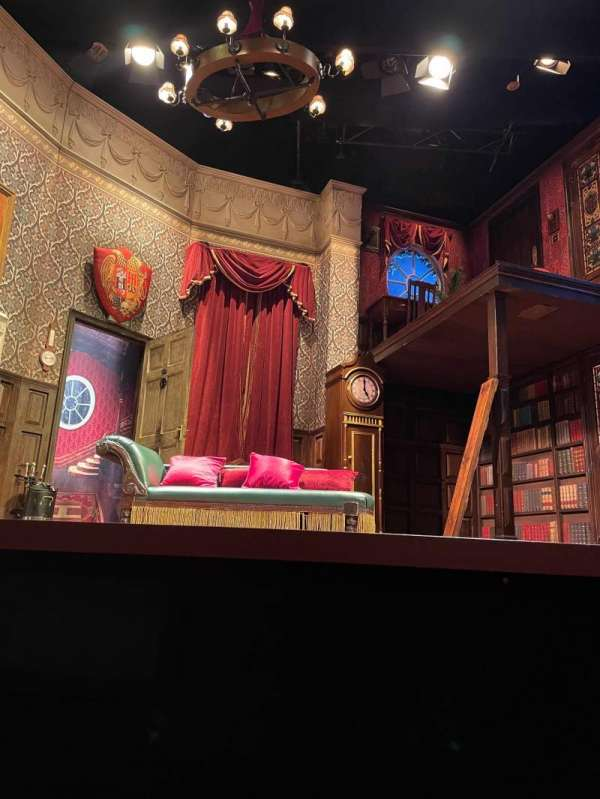 Duchess Theatre, section: Stalls, row: A, seat: 7