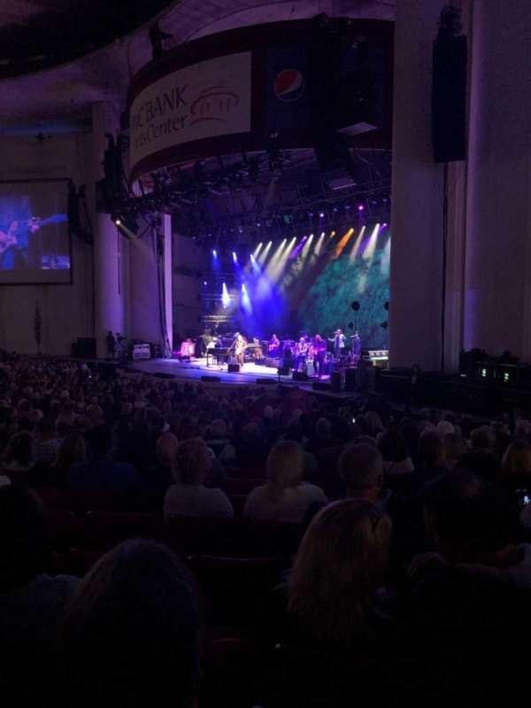 PNC Bank Arts Center, section: 101, row: Z, seat: 28