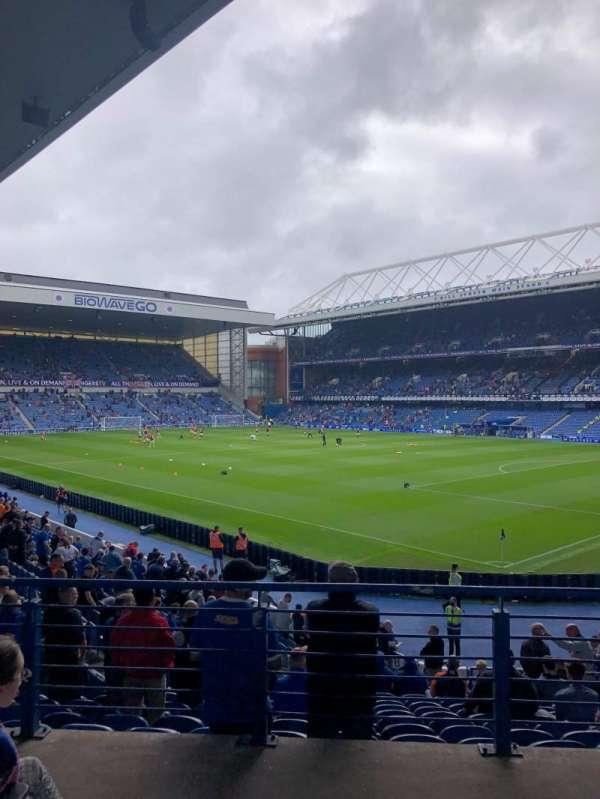 Ibrox Stadium, section: GW2, row: V, seat: 50