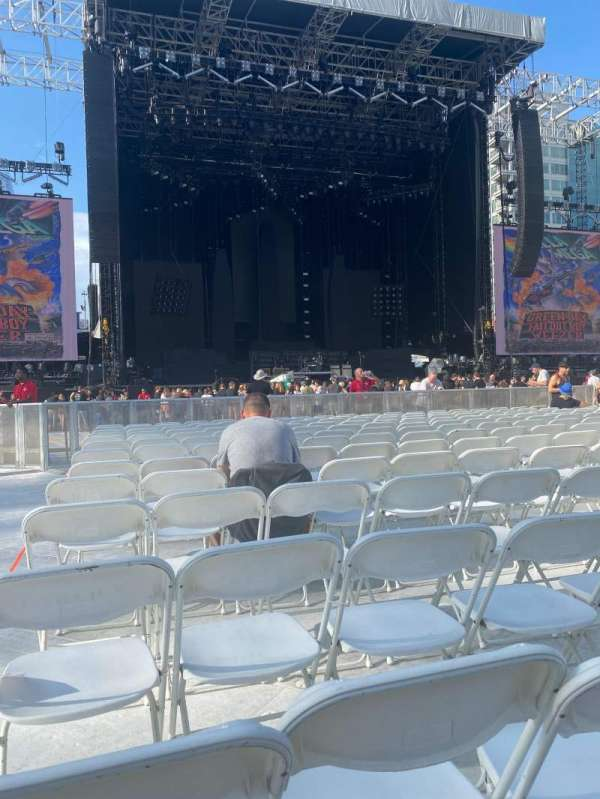 PETCO Park, section: Floor A4, row: 13, seat: 21