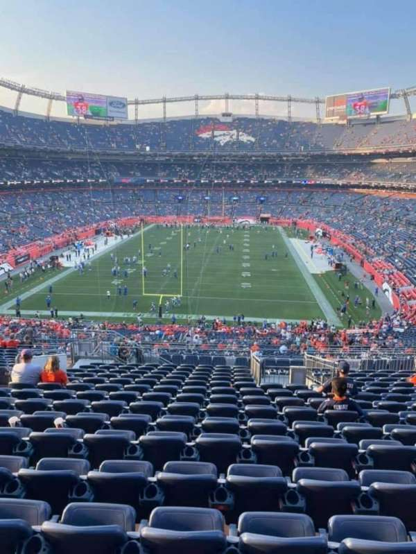 Empower Field at Mile High Stadium, section: 231, row: 20, seat: 20