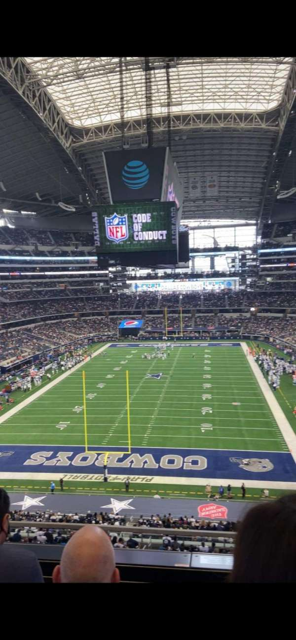 AT&T Stadium, section: 322, row: 3, seat: 15