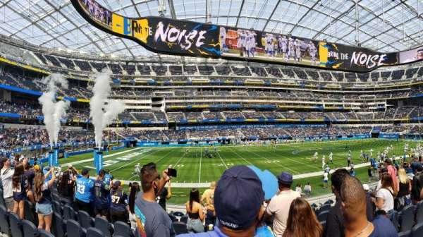 SoFi Stadium, section: C109, row: 12, seat: 13-14
