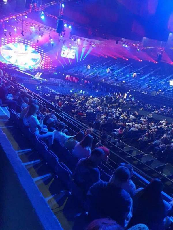 SSE Arena, Wembley, section: S13, row: Q, seat: 169
