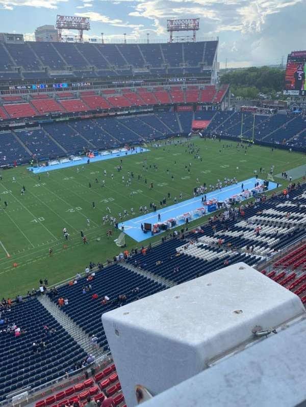 Nissan Stadium, section: 316L, row: A, seat: 16
