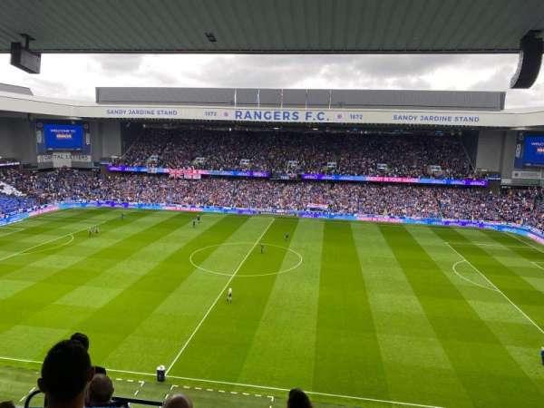 Ibrox Stadium, section: CD3, row: G, seat: 0133