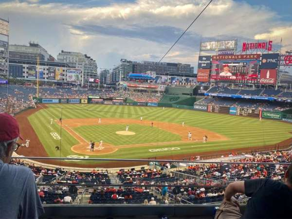 Nationals Park, section: 216, row: C, seat: 15